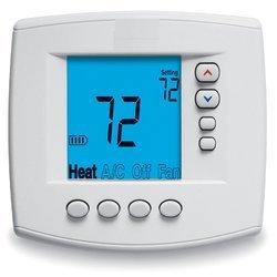 Biely digitálny termostat